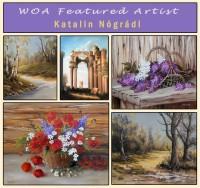 A WOA kiváló festőművésze lettem