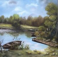 Horgásztó,70x70