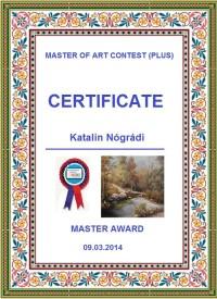 Mesteri kitüntetés 2014.03.09.