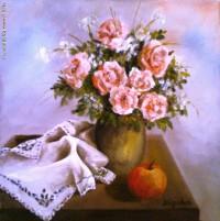 Nógrádi K- Rózsaszín rózsák
